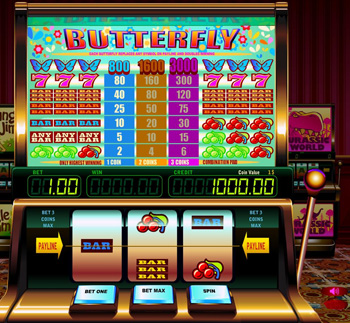 Classic Butterfly Hot Slot Machine - Play Penny Slots Online