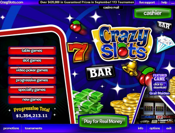 play free slot machines online crazyslots