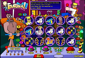 Eureka slot machine ouverture casino vinon sur verdon