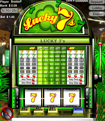 play free slot machines lucky 7