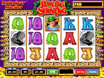 Rainbow Riches Win Big Shindig Slots - Play for Free Now