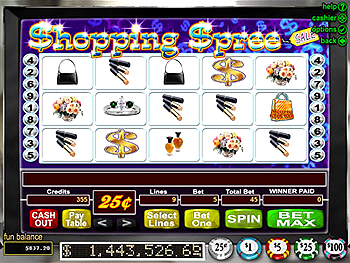 Shopping Spree™ Slot Machine Game to Play Free in Realtime Gamings Online Casinos