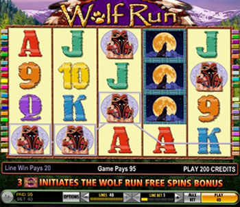 free online slot machines wolf run game book of ra