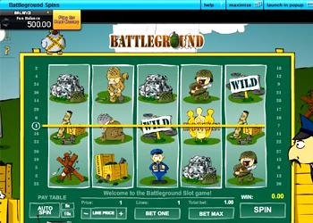 Battleground Spins