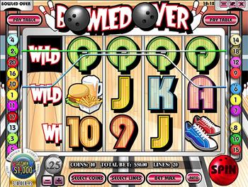 Bowled Over Slot Machine