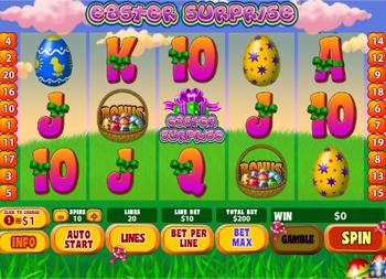 Slot Machine Gratis Easter Surprise
