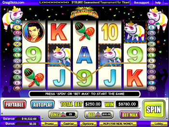La Fiesta Slot Machine