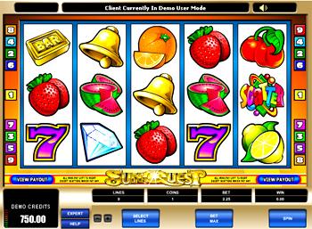 Sunquest Slot Machine