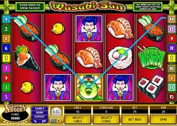 Wasabi-San Slot Machine